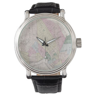 Vintage Map of Brooklyn (1873) Watches