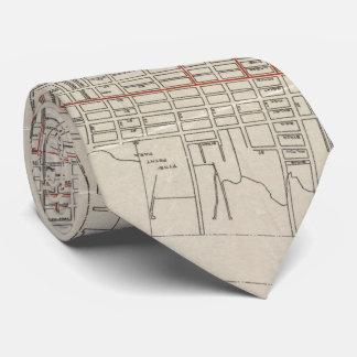 Vintage Map of Camden NJ (1921) Tie