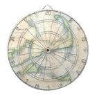 Vintage Map of Cape Cod (1857) Dartboard
