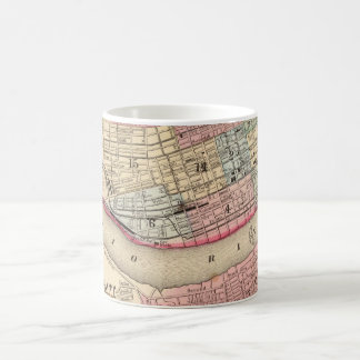 Vintage Map of Cincinnati (1780) Coffee Mug