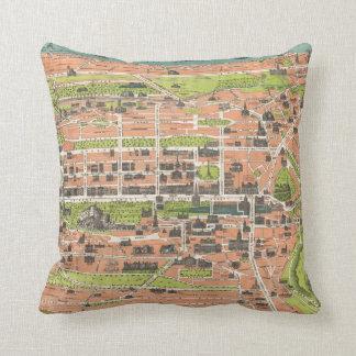 Vintage Map of Edinburgh Scotland (1935) Pillows