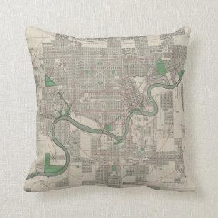 Map Pillows Amp Cushions Zazzle Ca
