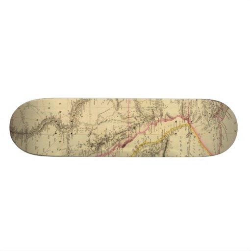 Vintage Map of Egypt (1832) Custom Skate Board
