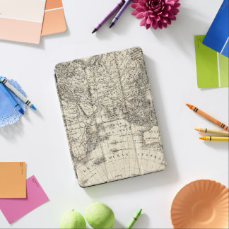 Vintage Map Of Europe and Asia iPad Air Cover