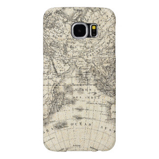 Vintage Map Of Europe and Asia Samsung Galaxy S6 Cases