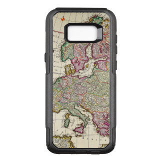 Vintage Map of Europe OtterBox Commuter Samsung Galaxy S8+ Case