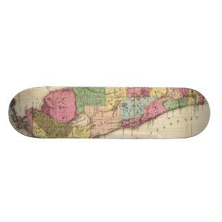 Vintage Map of Florida (1870) Skate Deck
