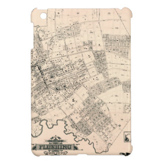 Vintage map of Flushing 1894 iPad Mini Cover