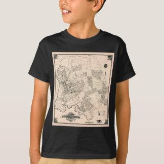 Vintage map of Flushing 1894 T-Shirt