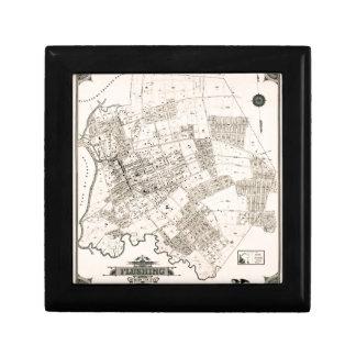 Vintage map of Flushing New York 1894 Gift Box
