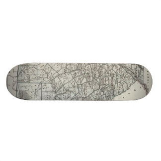 Vintage Map of Georgia (1845) Skateboard