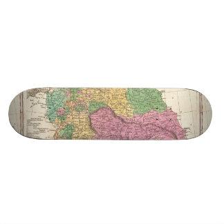 Vintage Map of Germany (1827) Skateboard Decks
