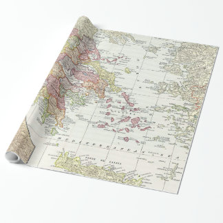 Vintage Map of Greece (1903) 2