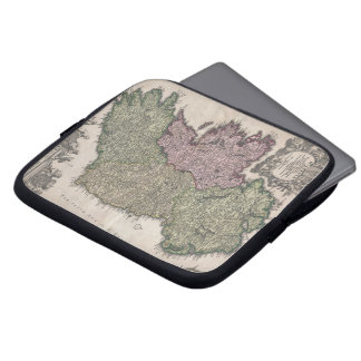 Vintage Map of Ireland (1716) Laptop Sleeve
