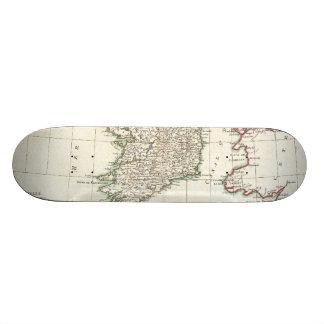 Vintage Map of Ireland (1771) Custom Skateboard