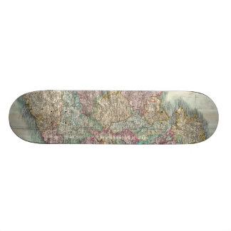 Vintage Map of Ireland (1799) Skate Deck