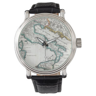 Vintage Map of Italy (1706) Watch