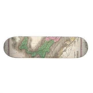 Vintage Map of Italy (1827) Skateboard Deck