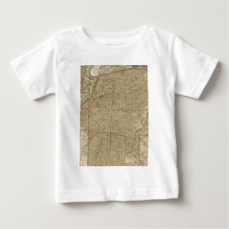 Vintage Map of Kansas City Missouri (1935) Baby T-Shirt