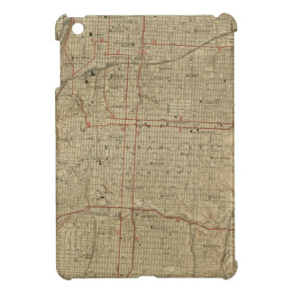 Vintage Map of Kansas City Missouri (1935) Cover For The iPad Mini