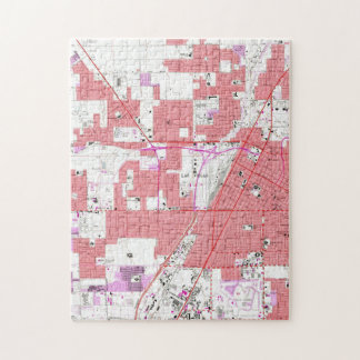 Vintage Map of Las Vegas Nevada (1967) 2 Jigsaw Puzzle