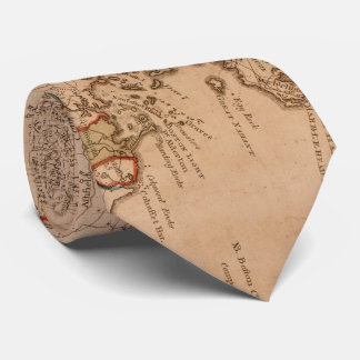 Vintage Map of Massachsuetts (1795) Tie