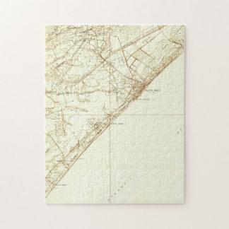 Vintage Map of Myrtle Beach South Carolina (1937) Jigsaw Puzzle