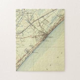 Vintage Map of Myrtle Beach South Carolina (1940) Jigsaw Puzzle