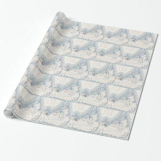 Vintage Map of Nantucket (1919) Wrapping Paper
