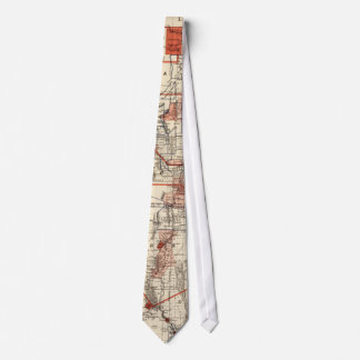 Vintage Map of New Mexico (1882) Tie