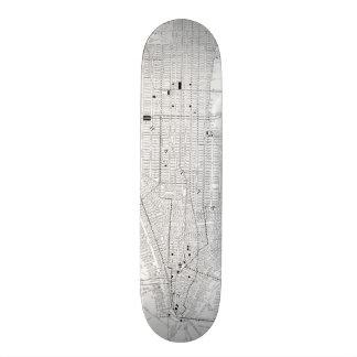 Vintage Map of New York City (1911) Custom Skateboard