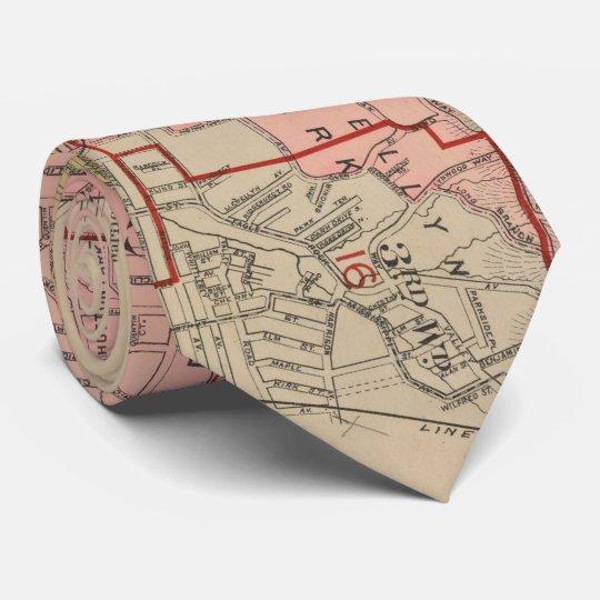 Vintage Map of Orange NJ (1911) Tie