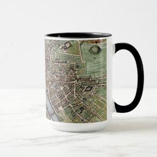 Vintage Map of Paris Mug