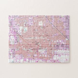 Vintage Map of Phoenix Arizona (1952) 2 Jigsaw Puzzle