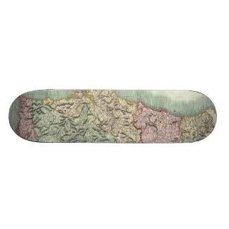 Vintage Map of Portugal (1801) Skate Decks