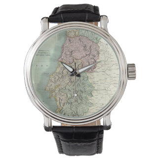 Vintage Map of Portugal (1801) Watches