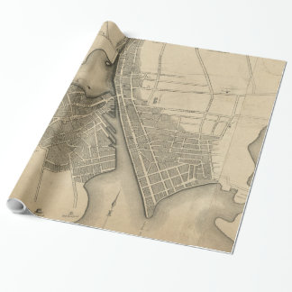 Vintage Map of Providence Rhode Island (1823)