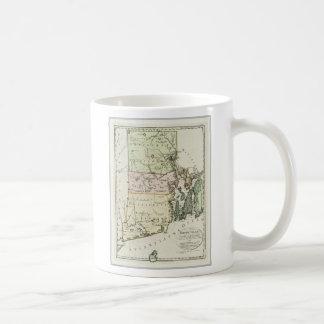 Vintage Map of Rhode Island (1797) Coffee Mug