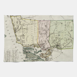 Vintage Map of Rhode Island (1797) Kitchen Towel