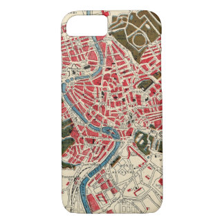 Vintage Map of Rome iPhone 7 Case