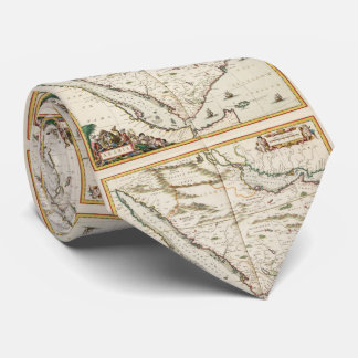 Vintage Map of Saudi Arabia (1662) Tie