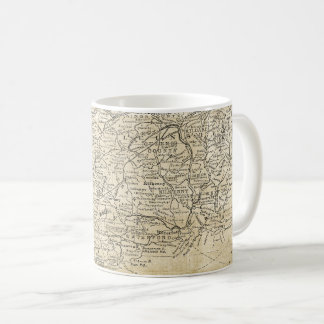 Vintage Map of South Ireland Munster Leinster Coffee Mug