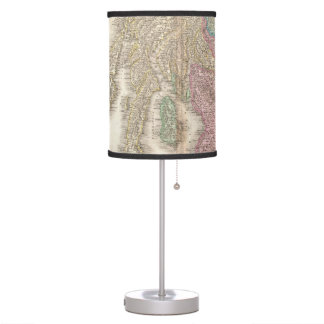 Vintage Map of Southern Scotland (1818) Table Lamp
