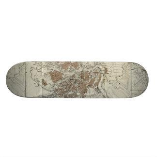 Vintage Map of St Petersburg 1893 Skate Boards
