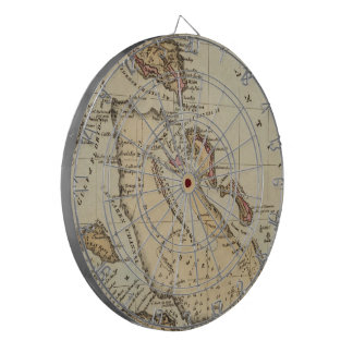 Vintage Map of The Bahamas (1823) Dart Boards