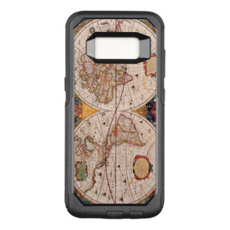 Vintage Map of the Known World Circa 1600 OtterBox Commuter Samsung Galaxy S8 Case