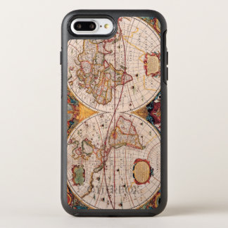 Vintage Map of the Known World Circa 1600 OtterBox Symmetry iPhone 7 Plus Case
