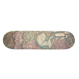 Vintage Map of The Netherlands (1799) Skate Board Deck