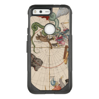 Vintage Map of the North Pole OtterBox Commuter Google Pixel Case