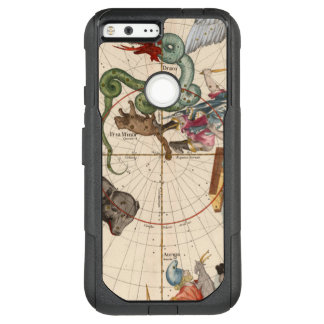 Vintage Map of the North Pole OtterBox Commuter Google Pixel XL Case